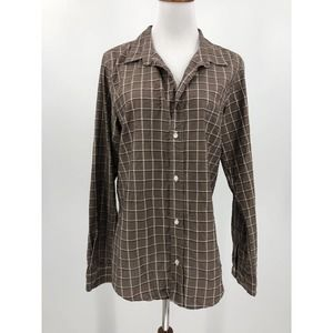 Frank & Eileen Barry Button Up Shirt Plaid XL